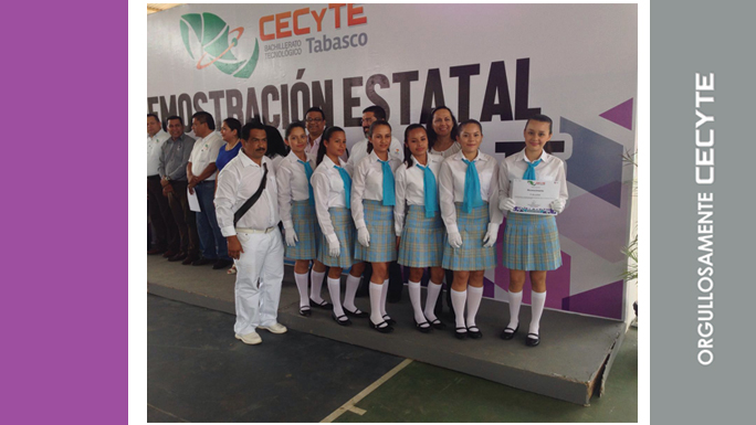 Plantel 10 gana la XI Demostración Estatal de Escoltas InterCECyTE 2016