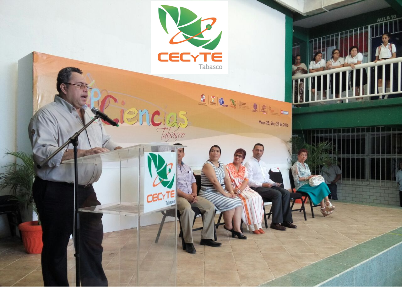 CECyTE Tabasco inaugura la 4ta. Expociencias Tabasco 2016